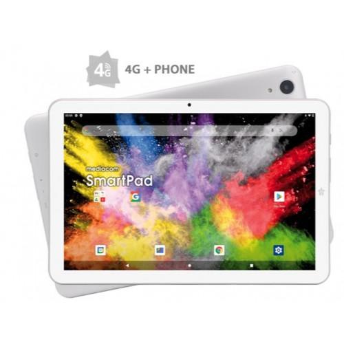 "Tablet PC Mediacom SmartPad Iyo 10 4G Octa 1.6GHz/2GB/32GB/10.1""HD IPS/4G/BT/GPS/2xCam/Silver/A11"