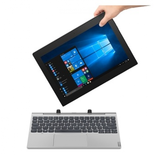 "Tablet PC Lenovo IdeaPad D330-10IGM Intel Celeron N4000/4GB/64GB/10.1"" HD IPS/ WiFi/BT/Win 10/Black - 81H300D9RM"